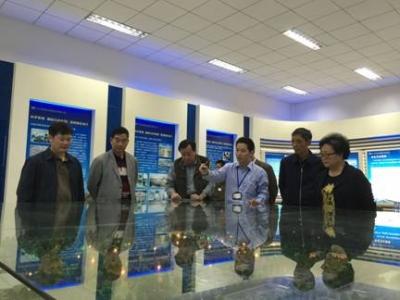 大理白族自治州人大常委会调研组到江南污水厂调研
