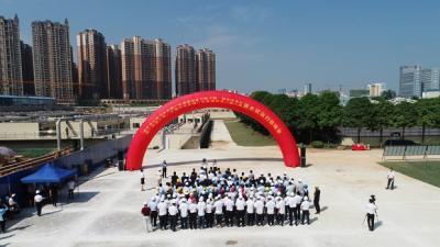 江南、埌东、三塘3个污水处理厂改扩建项目通水试运行