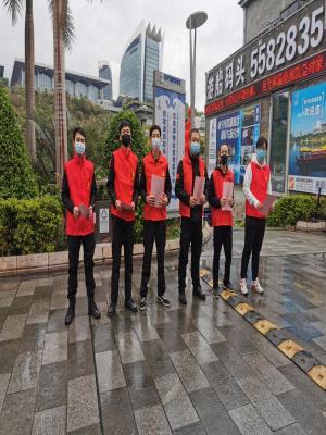 南宁水城旅游公司:党员必须在防疫战中当先锋、做表率